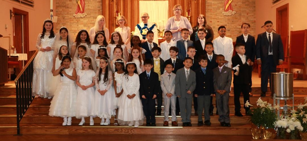Holy Family Catholic Academy First Communion
