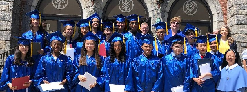 Holy Family Catholic Academy 2019 graduates